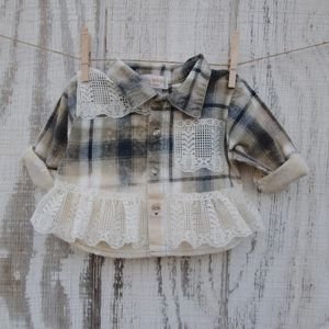 Upcycled baby shirt
